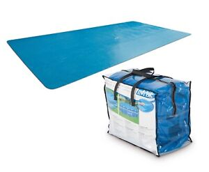 Intex SOLAR COVER 4m x 2m Rectangular Prism Frame Swimming Pool Protect Warm Up