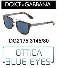DOLCE E GABBANA SUNGLASSES MAN DG 2175 3145/80 солнечные очки NEW COLLECTION