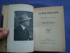 TEATRO DI SEM BENELLI-LA CENA DELLE BEFFE-POEMA DRAMMATICO IN QUATTRO ATTI-1920