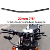 7/8'' 22mm Motorcycle Bike Drag Bar Handlebar Black For Honda Yamaha Suzuki *