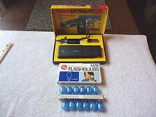 Vintage Lot Of 2 Camera Items,1,Kodak Ektralite 500 Outfit,1,GE M25 12 Bulb Pack