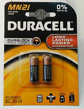 2 pila alcalina Lrv08 12V Duracell Duralock Gp23 Mn21 V23ga Lr23a L1028 23a A23