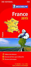 France Map 2015 Booklet (Michelin Road Atlases & Maps)