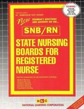 State Nursing Boards for Registered Nurse (Admission Test Series)-ExLibrary