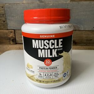 Muscle Milk Lean Muscle Protein Powder, Banana Creme - 1.93lbs Exp. 10/2020