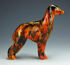 ANITA HARRIS ART POTTERY THE AFGHAN HOUND DOG FIGURE