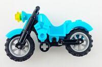 LEGO Medium Azure Vintage Classic Motorcycle Part 85983c01 From Set 41032 EUC