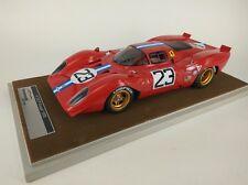 Tecnomodel ferrari 312P Coupé #23 piper/Adamowicz Daytona 1970 1/18