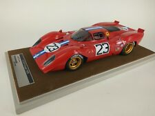 Tecnomodel Ferrari 312P Coupe #23 Piper/Adamowicz Daytona 1970 1/18