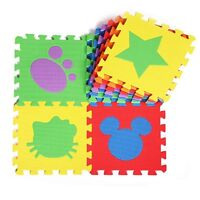 Durable Soft EVA Foam Puzzle Mat Pad Floor Crawling Rugs Baby Playing Toy Games