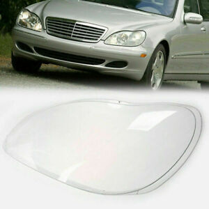 For Mercedes Benz S-Class W220 1998-2005 Headlight Clear Lens Cover A2208261590