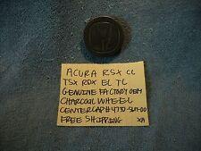 ACURA RSX TSX RDX EL TL GENUINE CHARCOAL WHEEL CENTER CAP 4732S6M00 FREE SHIPPIN