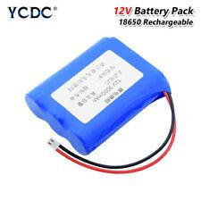 Paquete de batería recargable de 18650 12V para Aspiradora Baterías Luces LED 3D4