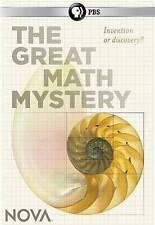Nova ~ The Great Math Mystery (Mario Livio) BRAND NEW DVD ~ SHIPS FAST!