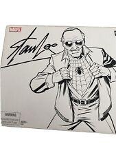 STAN LEE Marvel Legends 2007 SDCC Exclusive Spider-Man Peter Parker Foil Sealed