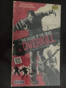 The House Of The Dead Overkill Promo Item VHS Case With Sealed T Shirt