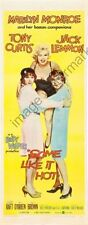 Some Like It Hot Movie Poster Insert #01 Replica
