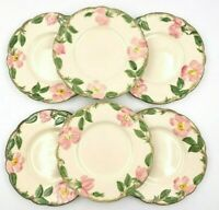 Franciscan Lot of 6 Desert Rose Bread & Butter Plates Made In California