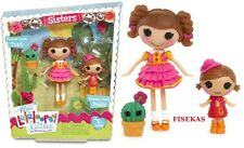 Lalaloopsy MINI Littles Sisters Trouble and Prairie Dusty Trails  2 Dolls NEW