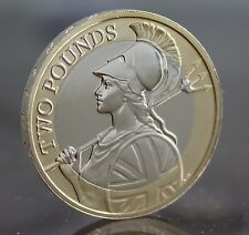 2015 Royal Mint Britannia Definitive £2 Two Pound Coin BU - BUnc - Low mintage