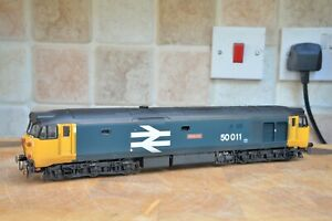 Hornby Class 50 R2748 50011 'Centurion' BR Large Logo Blue Pro-weathered
