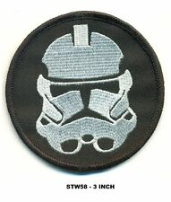 STAR WARS CLONE HELMET PATCH - STW58