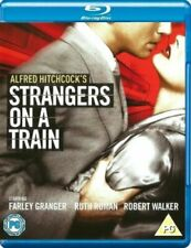 Strangers on a Train (1951) Alfred Hitchcock Blu-Ray Brand New Free Ship