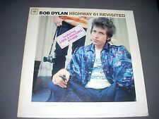 BOB DYLAN LP Highway 61 Revisited Mono CL2389 1C/1C Hype Sticker VG+