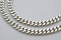 925 Sterling Silver Curb Chain Necklace. 51g, 50cm,  20""