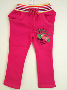 New Girls/Toddler Pink Pants Size: 18-24M, 2-3, 3-4, 4-5, 5-6