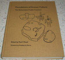 Foundations of Anasazi Culture The Basketmaker-Pueblo Transition Reed Hard Cover