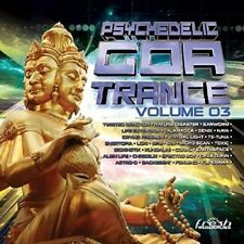 PSYCHEDELIC GOA TRANCE 3  2 CD NEW+