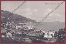 SAVONA ALASSIO 163 Cartolina viaggiata 1911
