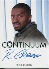 Continuum Season 3 Autograph Card Roger Cross as Travis Verta (Full Bleed)