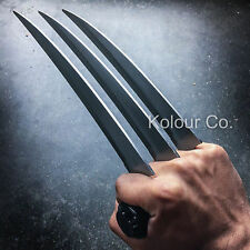 "12"" Hunting Wolverine Claw Blade Fantasy Knife Combat XMEN Cosplay w/ Stand"