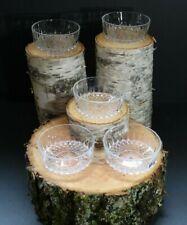 New listing Vintage Cristal d' Arques Arcoroc France Cut Glassware Salad Bowls
