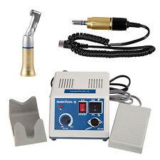 Lab odontotecnico motore elettrico 35K rpm + Marathon micromotore Gold M-III A1Y