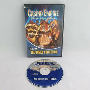 PC CD-Rom - Casino Empire Build, Run and Rule Las Vegas