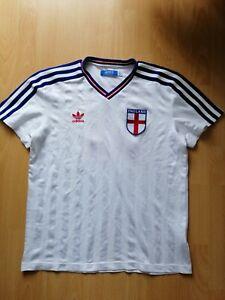 England #11 National Team Adidas Originals Retro Football Jersey M Shirt Rare