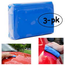 3x Magic Car Clean Clay Bar Detailing Wash Cleaner Mud Remove 3-Pack