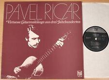 Pavel cercan-virtuosa chitarra suoni da tre secoli (FSM 1979/LP M -)