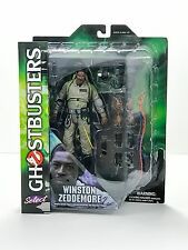 Ghostbusters Select: Series 1 Action Figure, Winston Zeddemore*New*Ships Free*