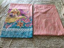 """Pair Disney Tangled Rapunzel Princess Curtain Panels 40"""" X 65"""""""