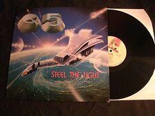 Q5 - Steel the Light - 1985 France Vinyl 12'' Lp./ VG+/ Hard Rock Metal