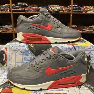 Nike Air Max Essential 537384-061 Dark Grey/University Red-White 9.5