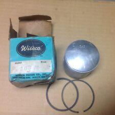 NOS CZ125 2 2mm Wiseco Piston Kit 203P8 new vintage mx ahrma Czech 125 Cz