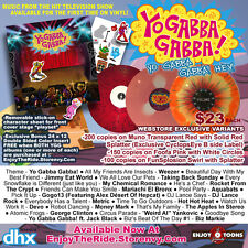 Yo Gabba Gabba Hey Vinyl Record My Chemical Romance Jimmy Eat world Weird Al mcr