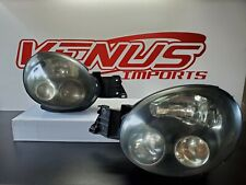 JDM Subaru Impreza WRX STi Black Projector Headlights NON HID GDB GG V7 OEM