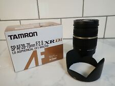 Tamron Lens A09 SP 28-75mm F/2.8 XR Di for Canon EF