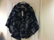 Plus Size Wool Blend Outer Shell Cape Coats, Jackets & Waistcoats for Women